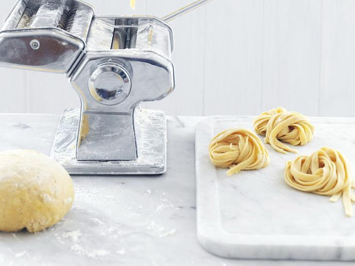 "**[Fresh pasta](https://www.womensweeklyfood.com.au/recipes/fresh-pasta-13555|target=""_blank"")**"