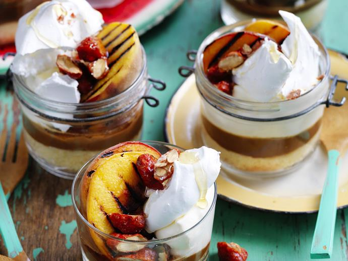 "**[Peach meringue with dulce de leche](https://www.womensweeklyfood.com.au/recipes/peach-meringue-with-dulce-de-leche-5478|target=""_blank"")**"