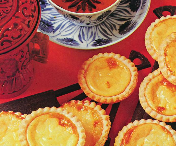 Chinese Custard Tarts