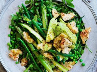 greenest green salad