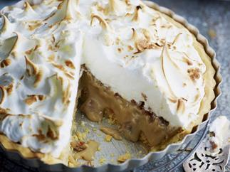 CARAMEL MERINGUE PIE