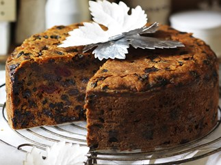 gluten-free Christmas fruit cake