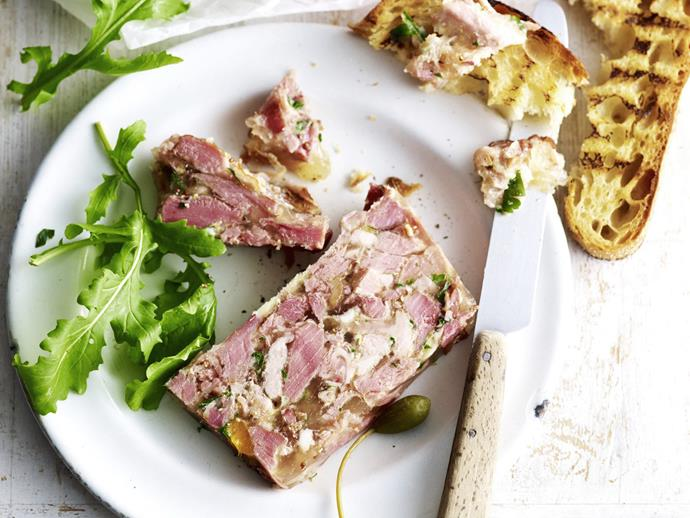 "Caperberries, although from the same plant, are quite different to capers. Don't be tempted to omit them. Scattered over this rustic [ham, mustard and parsley terrine](https://www.womensweeklyfood.com.au/recipes/ham-mustard-and-parsley-terrine-15454|target=""_blank""), they add a delightful piquancy to this dish."