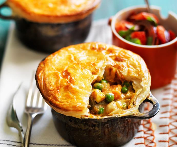 vegie curry pies