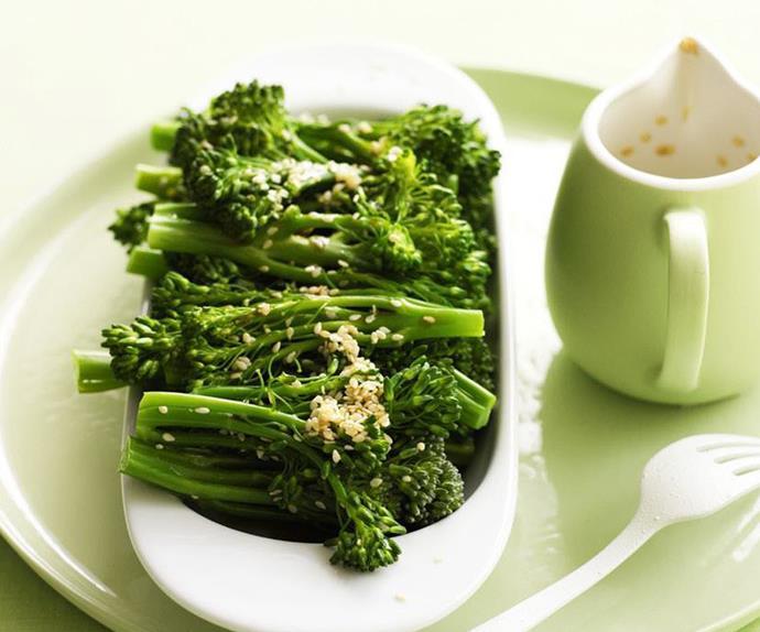 broccolini with honey