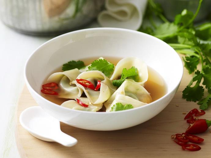 "**[Chicken gow gee soup](https://www.womensweeklyfood.com.au/recipes/chicken-gow-gee-soup-12706|target=""_blank"")**"