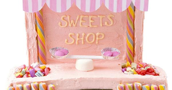 The Australian Womens Weeklys Sweets Shop Cake