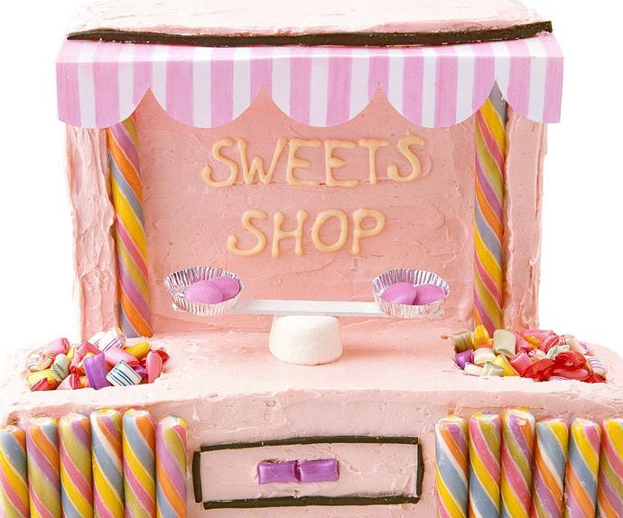 sweets shop kids' cake