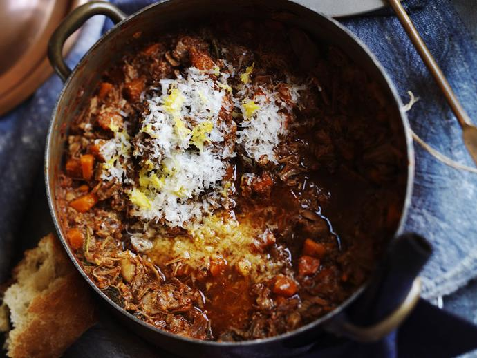 """**[Ragù alla bolognese](https://www.womensweeklyfood.com.au/recipes/ragu-alla-bolognese-5269