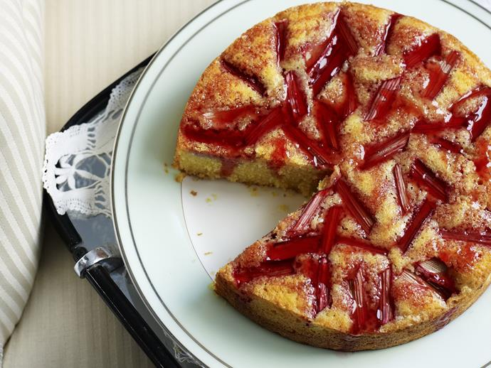 "[Orange, semolina and rhubarb cake recipe.](http://www.foodtolove.com.au/recipes/orange-semolina-and-rhubarb-cake-21032|target=""_blank"")"