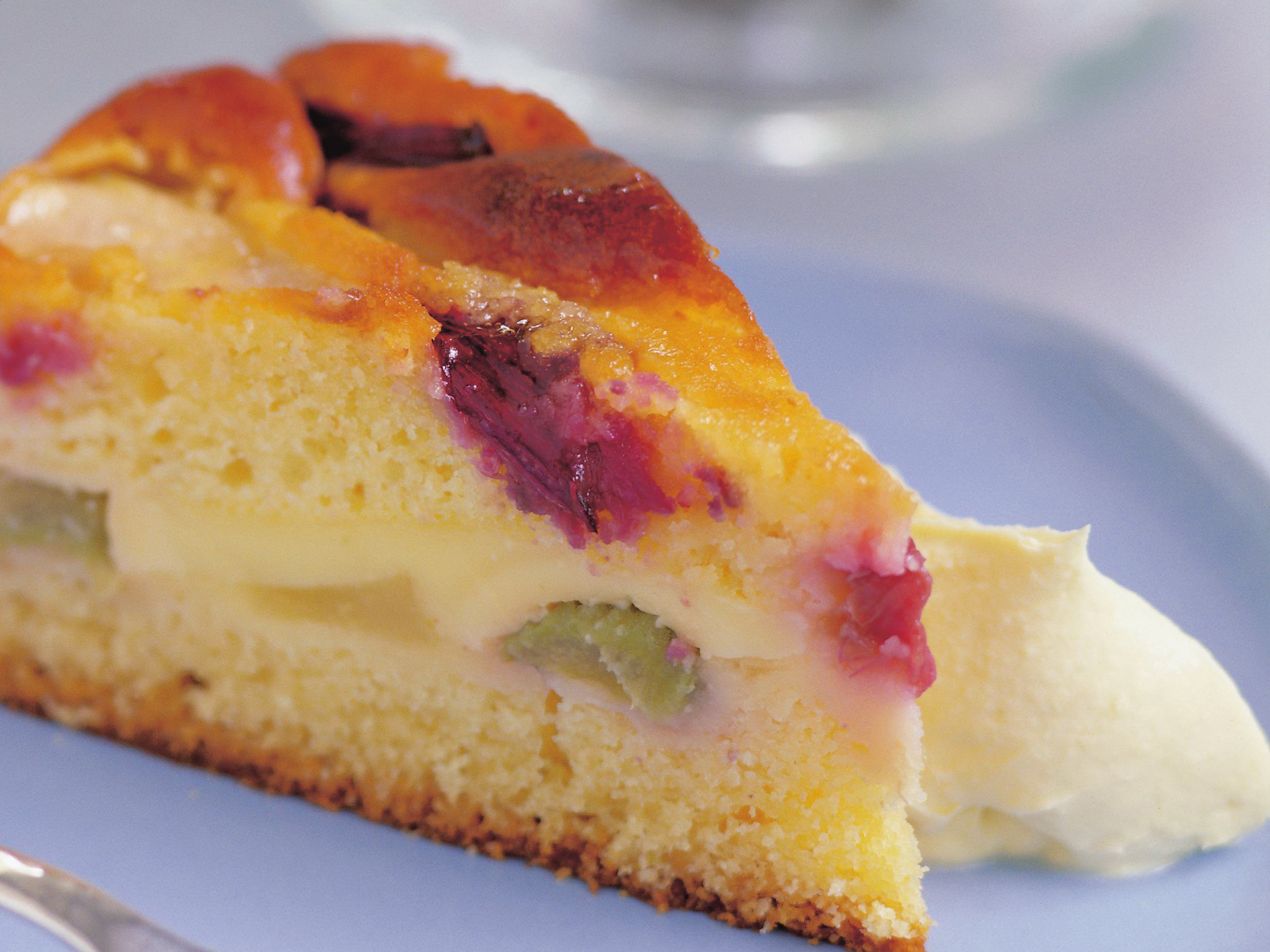 Simple Custard Cake Recipe