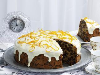 sultana and orange pound cake