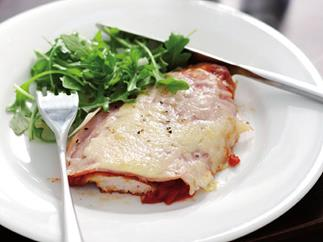 chicken parmigiana-style