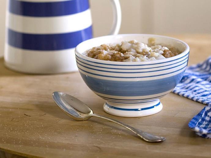 "**[Porridge](http://www.womensweeklyfood.com.au/recipes/porridge-5346|target=""_blank"")**"