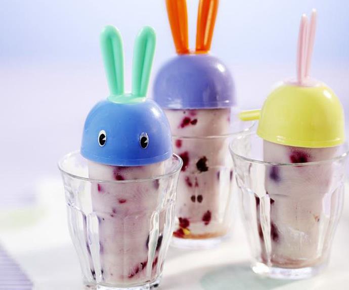 fruity yogurt ice-blocks
