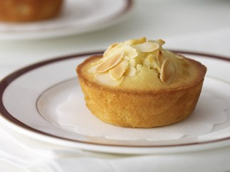 Pear and almond friands