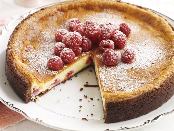 whitechocolateand raspberrycheesecake