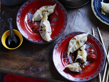Shiitake mushroom and pork soup dumplings