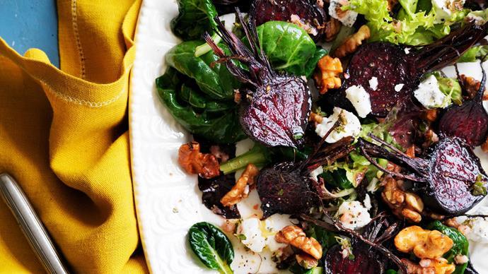 roasted beetroot salad