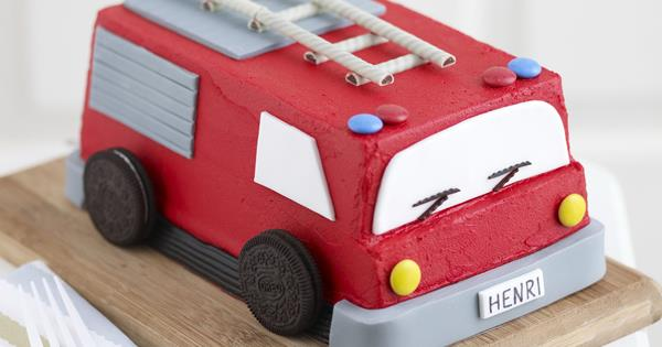 Astonishing Fire Engine Food To Love Funny Birthday Cards Online Alyptdamsfinfo
