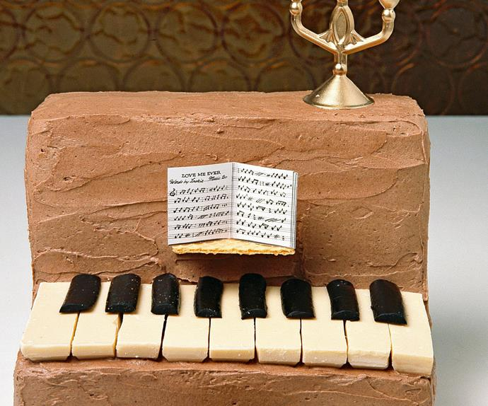 easy piano birthday cake
