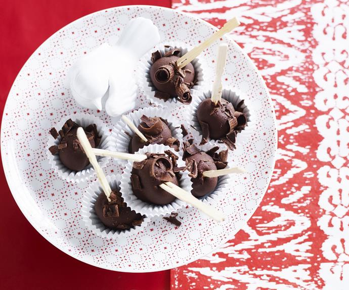 CHRISTMAS ICE-CREAM Pudding Bites