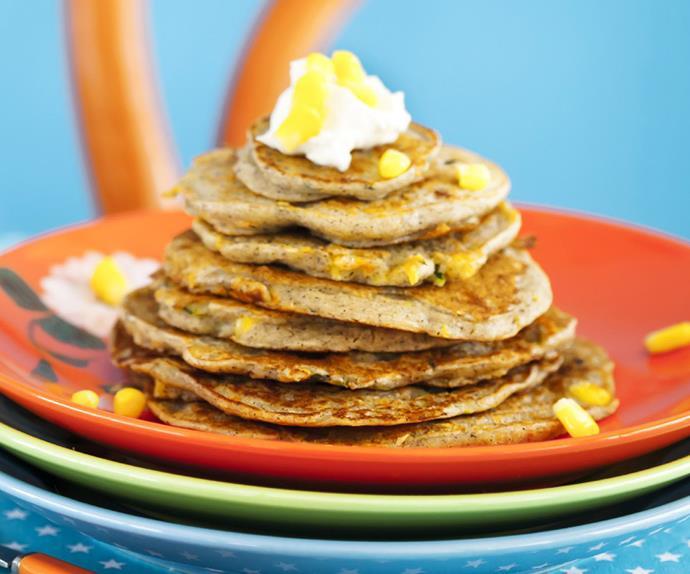savoury buckwheat pancakes