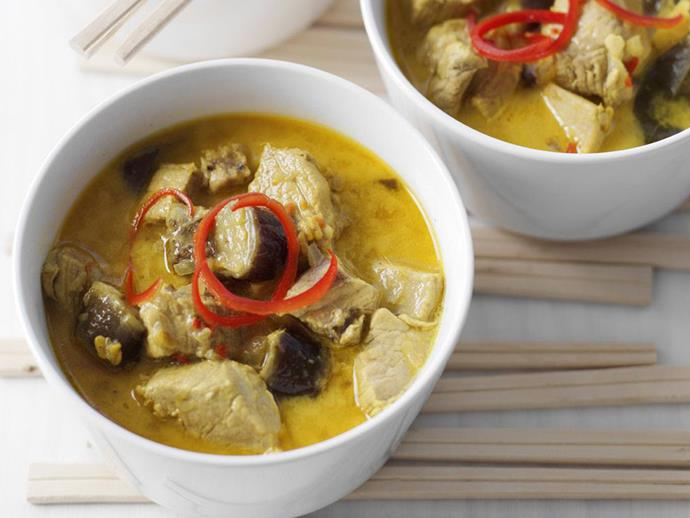 """**[Tamarind and citrus pork curry](https://www.womensweeklyfood.com.au/recipes/tamarind-and-citrus-pork-curry-12020