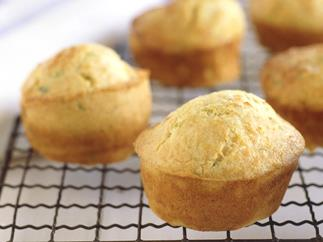 Triple-cheese muffins