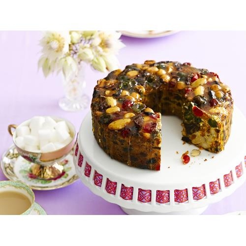 Festive Fruit And Nut Cake Women S Weekly