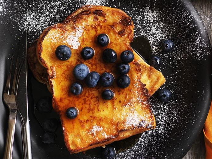 **20 minutes**. [French toast via Food To Love](http://www.foodtolove.com.au/recipes/french-toast-17324).