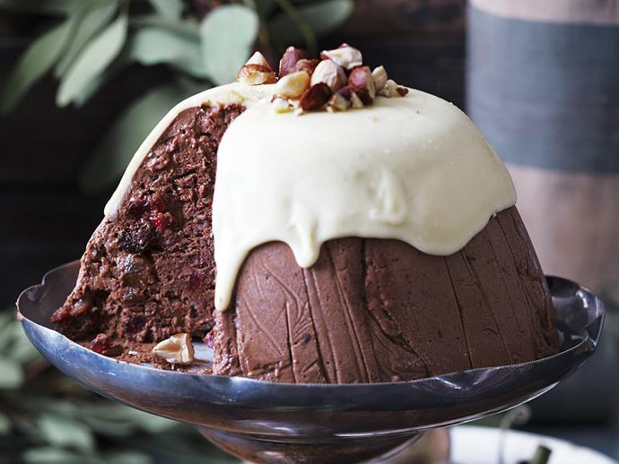 "**The great Australian Christmas pudding** <br><br> Traditionally, Australians cooked English-style puddings at Christmas, but although we love them, a lighter pudding is more suited to a hot climate. Hence the Great Australian Christmas Pudding was created. It's light, creamy and cool. <br><br> [**Read the full recipe here**](https://www.womensweeklyfood.com.au/recipes/the-great-australian-christmas-pudding-11690|target=""_blank"")"