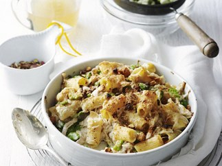 CHICKEN & BROAD BEAN RIGATONI BAKE