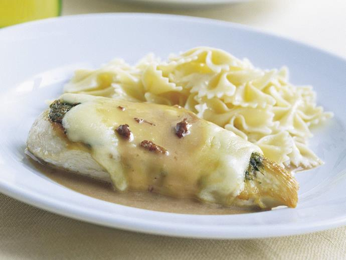 "**[Chicken marsala](https://www.womensweeklyfood.com.au/recipes/chicken-marsala-4744|target=""_blank"")**  An Italian-American dish of chicken breasts, capers, parsley and Marsala wine."