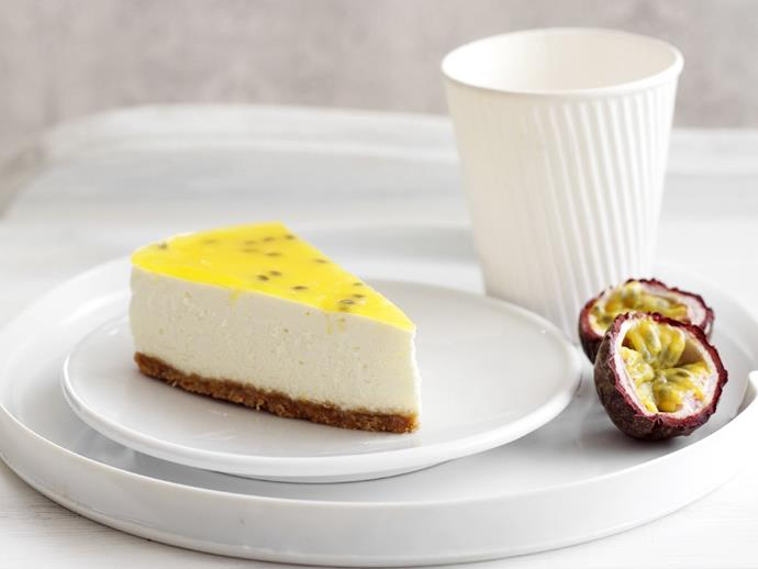 "**[Lemon ricotta cheesecake](https://www.womensweeklyfood.com.au/recipes/lemon-ricotta-cheesecake-11492|target=""_blank"")**"