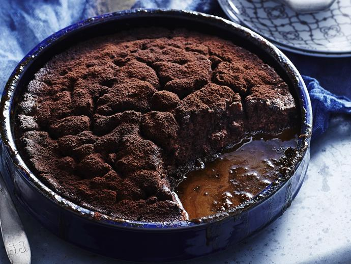 "**[Tiramisu self-saucing pudding](https://www.womensweeklyfood.com.au/recipes/tiramisu-self-saucing-pudding-11043|target=""_blank"")**  Creating this warm pudding version of the classic Italian dessert Tiramisu is pure genius! This recipe uses the beloved classic flavours to make a whole new style of decadent dessert."