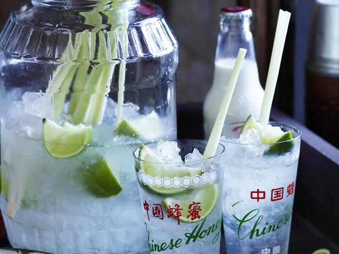 "[Coconut and lemongrass rum cocktails recipe.](https://www.womensweeklyfood.com.au/recipes/coconut-and-lemongrass-rum-cocktails-11079|target=""_blank"")"