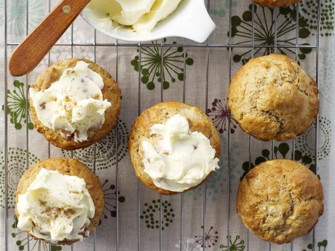 """**[Banana and cinnamon muffins](https://www.womensweeklyfood.com.au/recipes/banana-and-cinnamon-muffins-11101