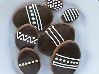 chocolate ginger easter eggs