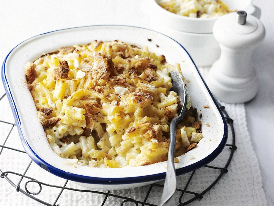 """This [macaroni cheese recipe](https://www.womensweeklyfood.com.au/recipes/classic-macaroni-cheese-10615 target=""""_blank"""") would absolutely count as a pasta bake!"""