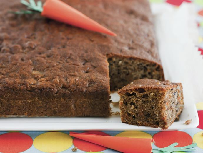 """**[Moist carrot cake](https://www.womensweeklyfood.com.au/recipes/moist-carrot-cake-15055
