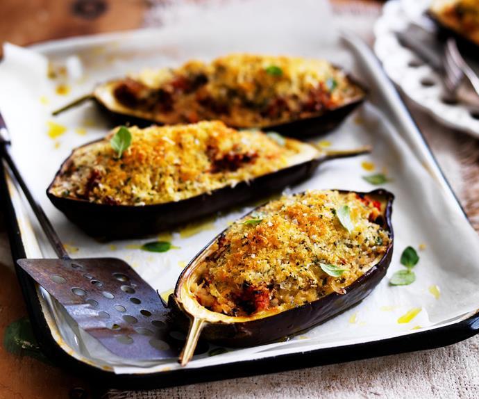 greek baked eggplant