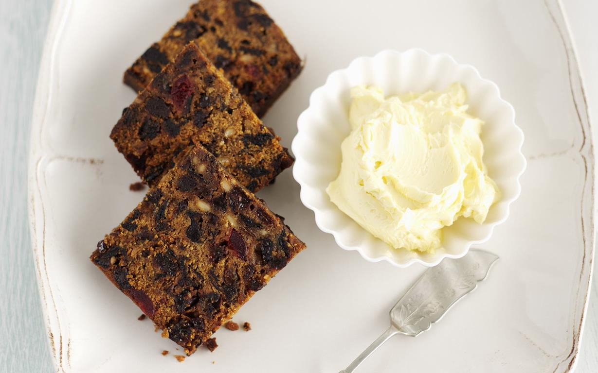 Boiled Tea Fruit Cake