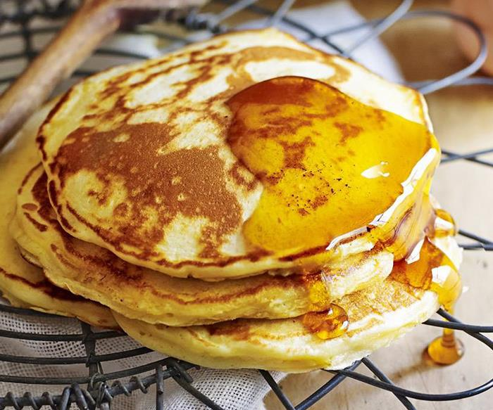Beautiful buttermilk pancakes