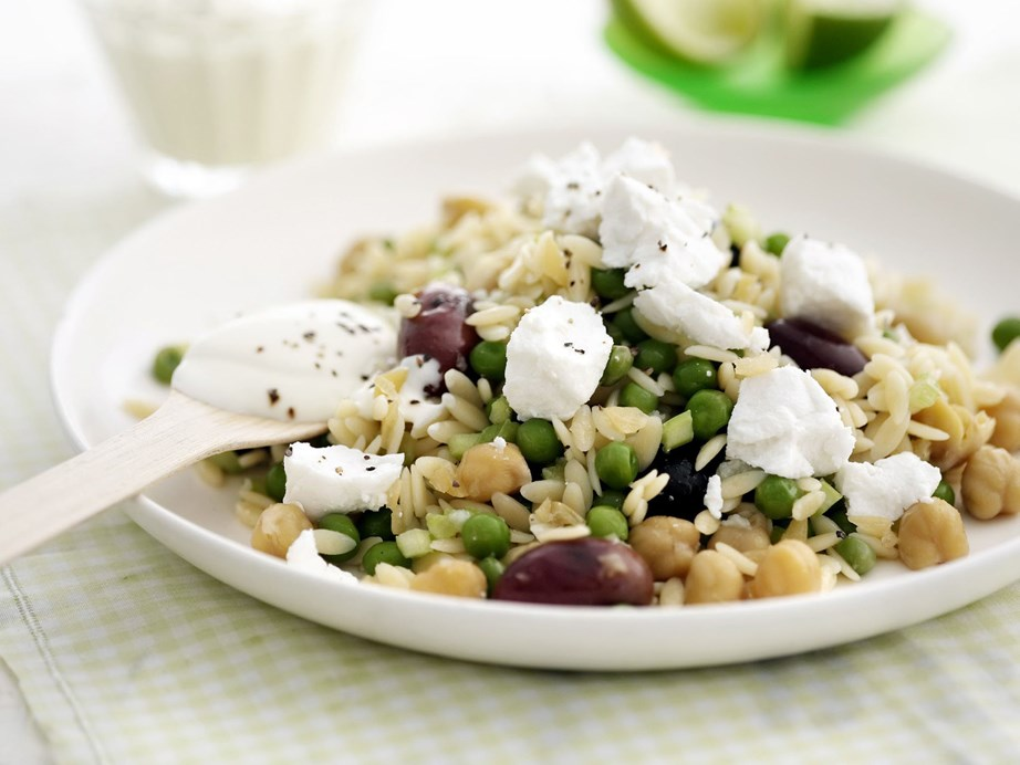 "Embrace Persian flavours with this refreshing and tasty [chickpea salad with preserved lemon, risoni](https://www.womensweeklyfood.com.au/recipes/chickpea-preserved-lemon-and-risoni-salad-10817|target=""_blank"") and a generous scattering of goat cheese."