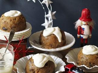 microwave Christmas puddings
