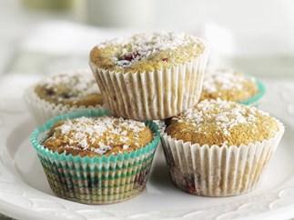 GLUTEN-FREE Berry Cupcakes