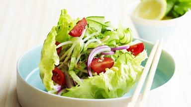 Thai salad cups