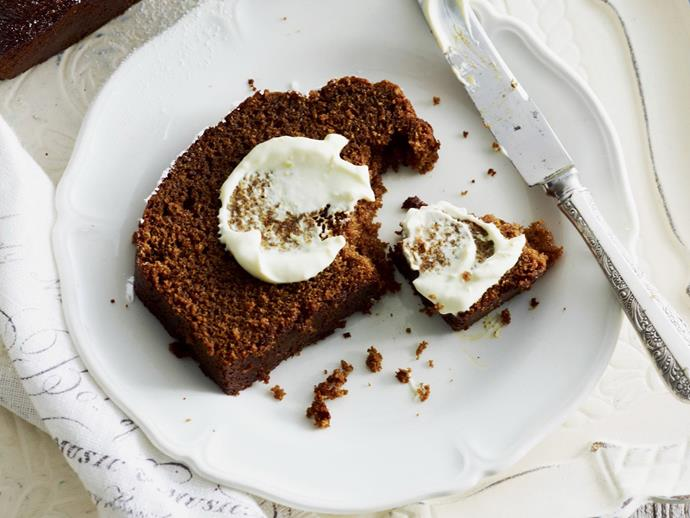 """**[Ginger treacle spice loaf](https://www.womensweeklyfood.com.au/recipes/ginger-treacle-spice-loaf-10358