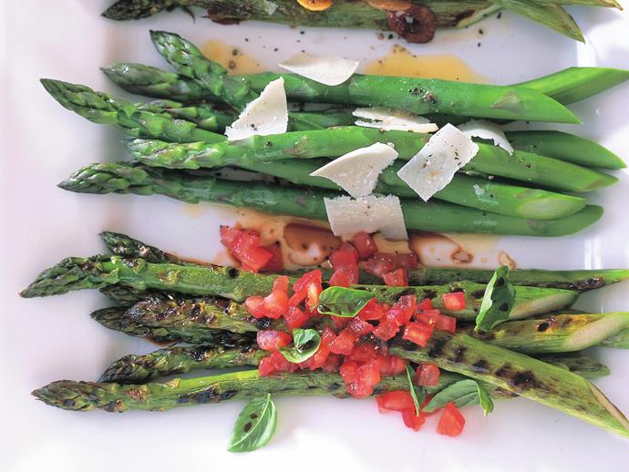 "**[Asparagus with three toppings](https://www.womensweeklyfood.com.au/recipes/asparagus-with-three-toppings-16581|target=""_blank"")**  Asparagus is a delicious summer vegetable that really comes into its own with the right topping. Try one of these three versions next time you serve this moreish vegetable."